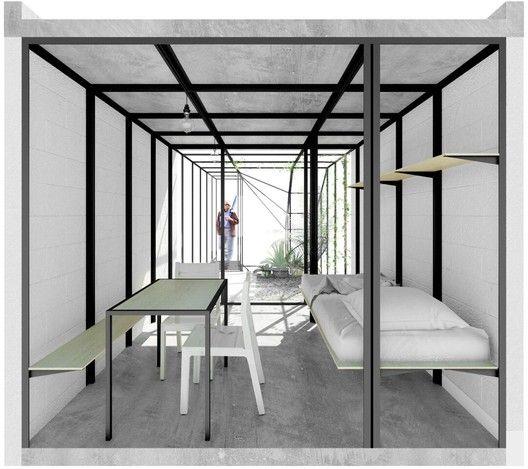 Kalach y Francisco Pardo participan en 'Un Cuarto Más': Una nueva visión del desarrollo urbano y la vivienda en México,Propuesta de Francisco Pardo. Image Cortesía del INFONAVIT