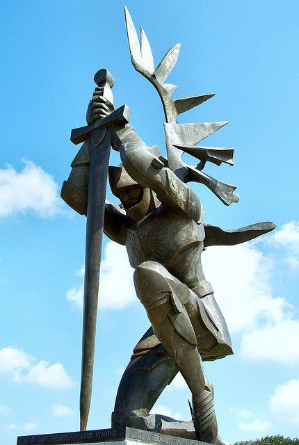 Hussar Memorial - Our Lady of Czestochowa Shrine   Flickr - Photo Sharing!