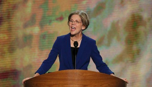 """Elizabeth Warren's Powerful Speech: Supreme Court Is on the Path to Being a """"Wholly Owned Subsidiary of Big Business"""" 
