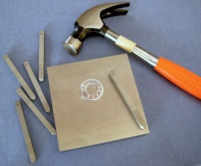 The basics of metal stamping. A highly addictive pursuit for those of us who like to make jewelry! Check out the rest of well-known jewelry author, Rena Klingenberg.