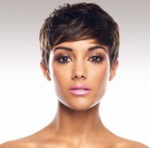 I want something new & fresh. I've been considering getting a serious cut, lets sy yes a PIXIE cut ! Yayy or neyy ? | 10:45pm