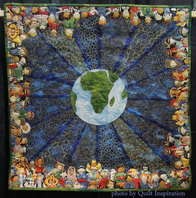 Quilt Inspiration: Solar Sister: Empowering Humanity through Clean Energy