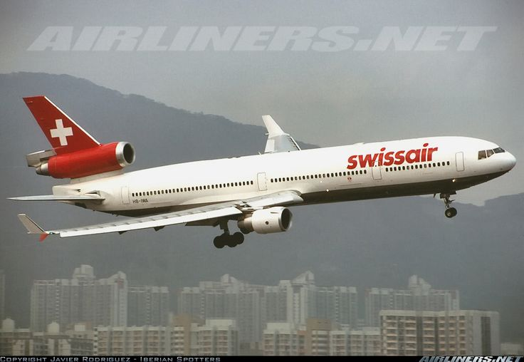 McDonnell Douglas MD-11 - Swissair | Aviation Photo #1341886 | Airliners.net
