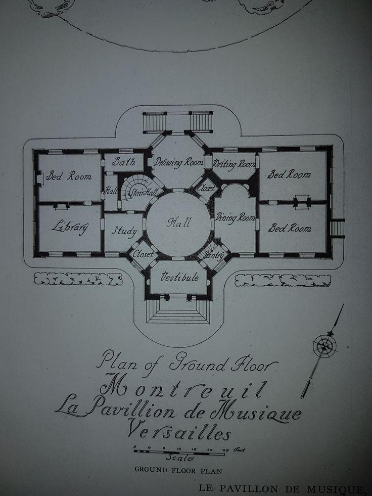 Pavillon de Musique de la Comtesse de Provence, floor plan