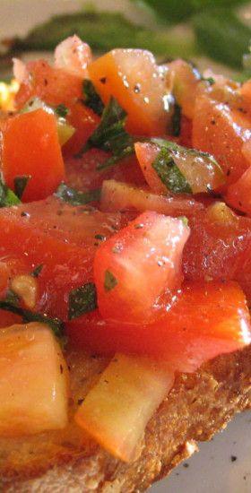 Pomodoro Bruschetta Recipe