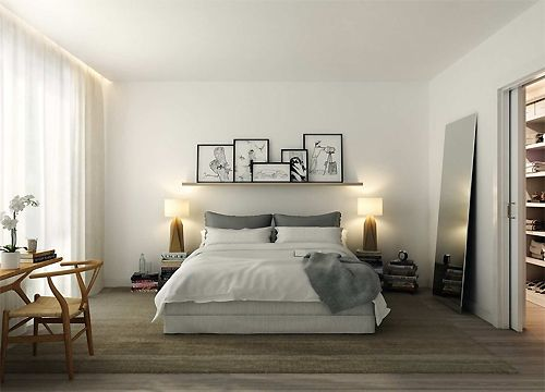 Beautiful bedroom #living #bedroom #sleeping #night #architecture #achitectuur #design #interior #interieur #interieurdesign #wonen #slapen #studiointerio  More information at; www.studio-interio.com