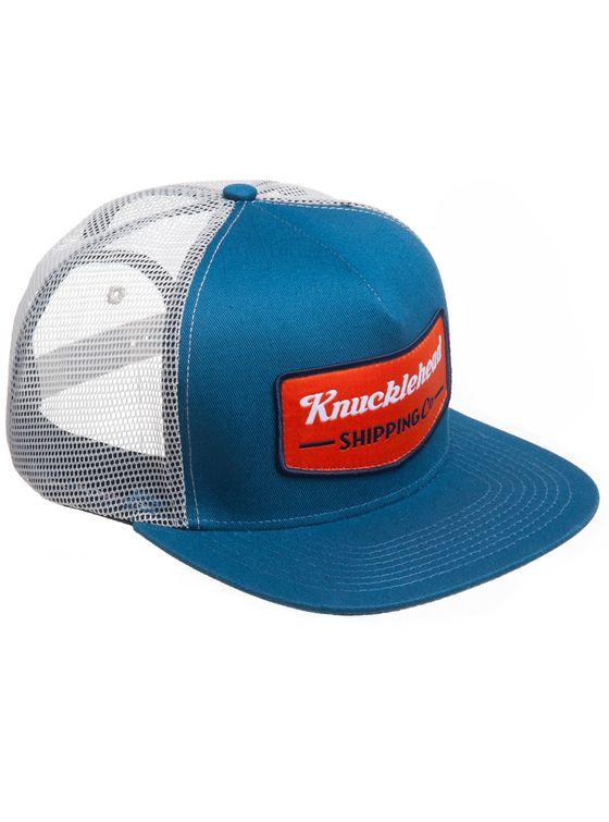 COPPER SHIELD CAP 5 panel, mesh back trucker cap
