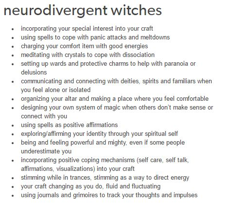 Witches and Psychology