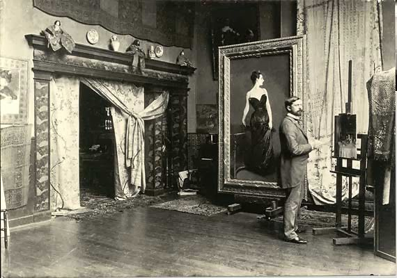 John Singer Sargent | via Creatives in their Spaces ~ Cityhaüs Design