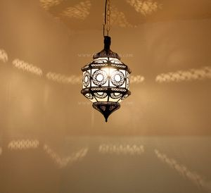 Hanging Lantern with Clear Glass - LIG147. Moroccan LightingMoroccan ... & The 25+ best Moroccan hanging lanterns ideas on Pinterest ... azcodes.com