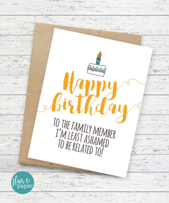 19 best images about Cards – Funny Birthday Greetings for Sister