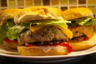 Parmesan Turkey Burgers - Cuisinart Original - Appetizers - Recipes - Cuisinart.com