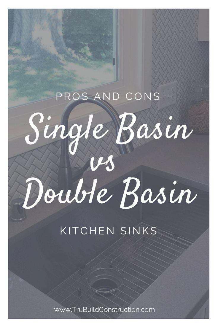 Kitchen Sink Series Part 2 Single Basin Vs Double Basin Sinks