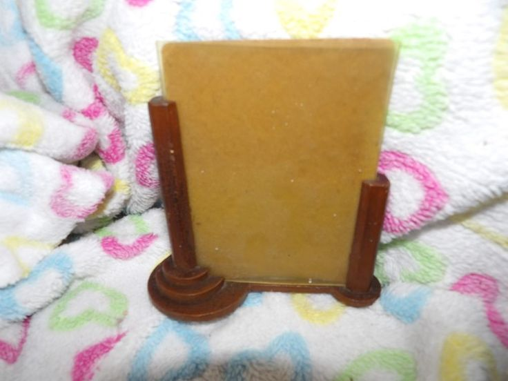 Unusual hand crafted Art Deco small photo frame 65-3
