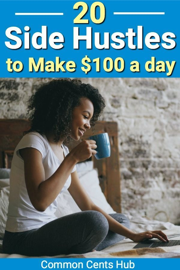 What can I do to make $100 a day without experience? Well, here's 20 side hustle… – clamshell