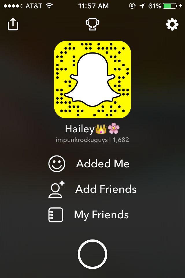 Add me on Snapchat! Username: impunkrockuguys https://www.snapchat.com/add/impunkrockuguys