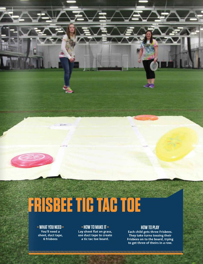 Frisbee Tic Tac Toe for kids | Spooky Nook Sports