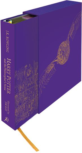 Harry Potter and the Philosopher's Stone Deluxe Illustrated Edition for Aly