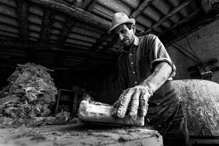 Stefan, the brick maker Photo by Bogdan Comanescu -- National Geographic Your Shot