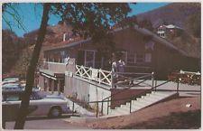 Yucaipa, California Postcard LAW'S COFFEE SHOP Oak Glen Street View c1960s