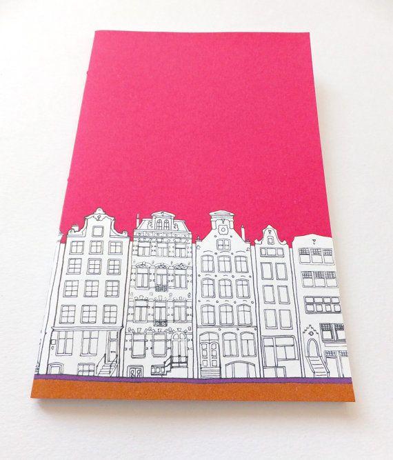 Amsterdam Journal - Hot Pink Journal