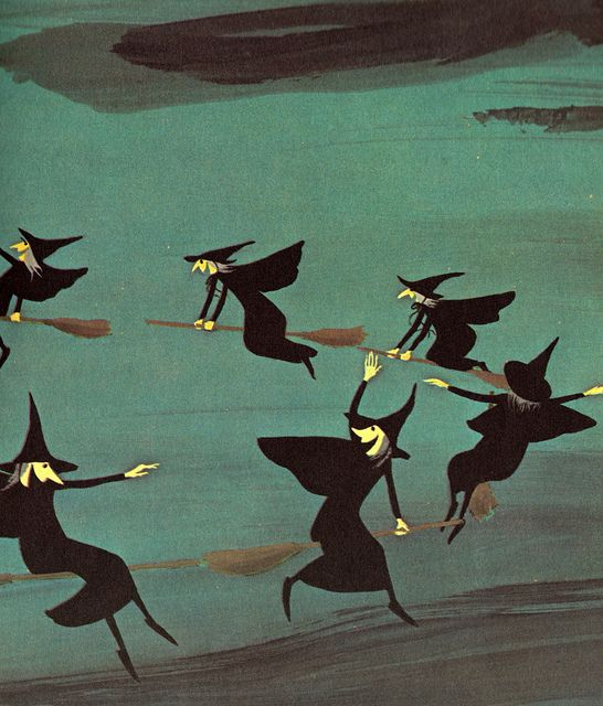 a woggle of witches