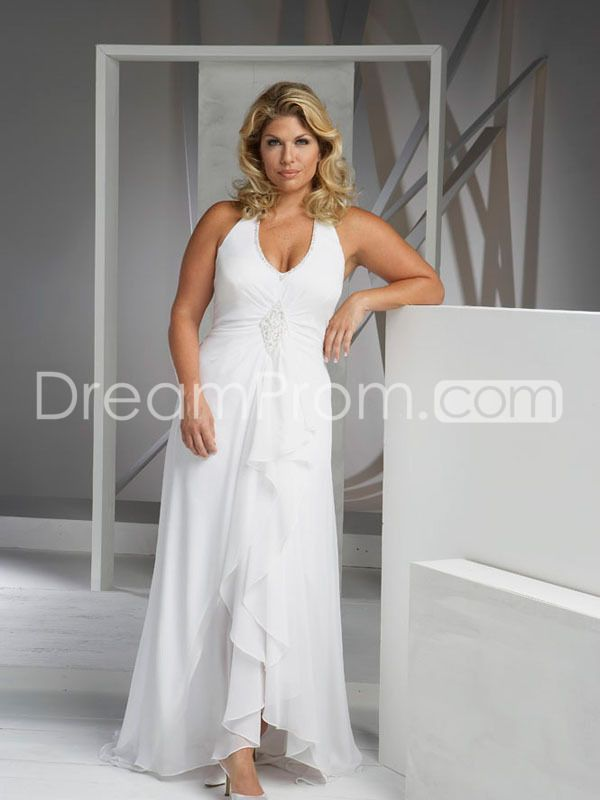 Lime Green Beach Wedding Dresses Plus Size