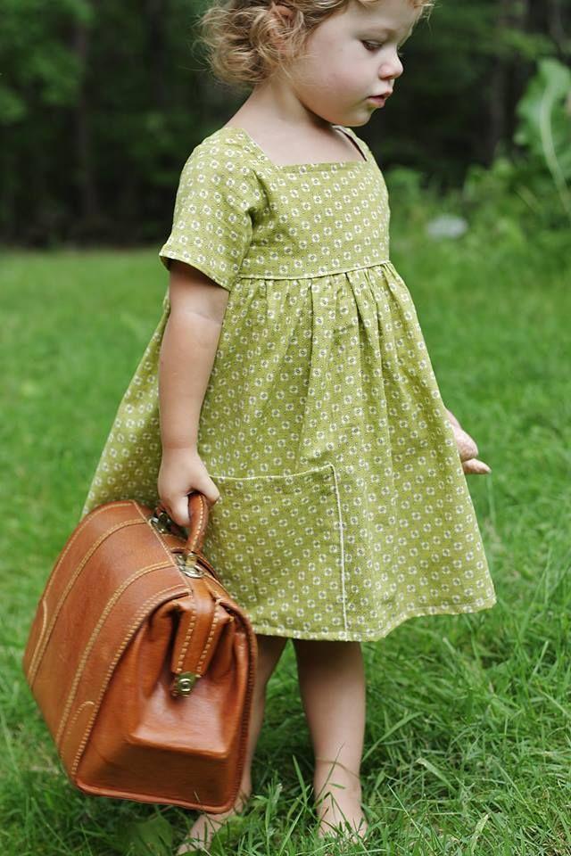 The Sally Dress!!!  September Pattern Member Bundle :)