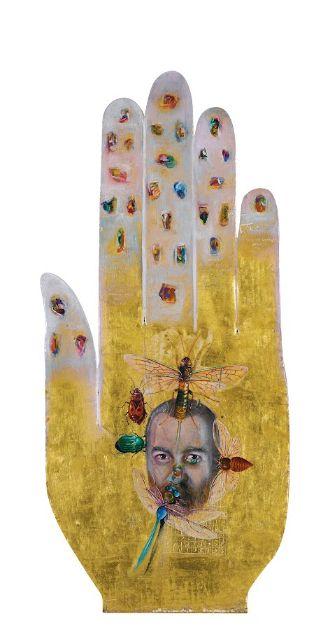 Ergin Inan, Self-portait (1996) on ArtStack #ergin-inan #art