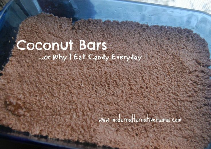 Delicious coconut bars with a secret ingredient -- keep your kids healthy AND happy at the same time!