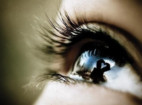 ♥ When they look at you, what do they see?