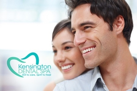 Zoom 2 Laser Teeth Whitening Plus Airflow Sparkle and Polish for £119 at Kensington Dental Spa (76% Off)