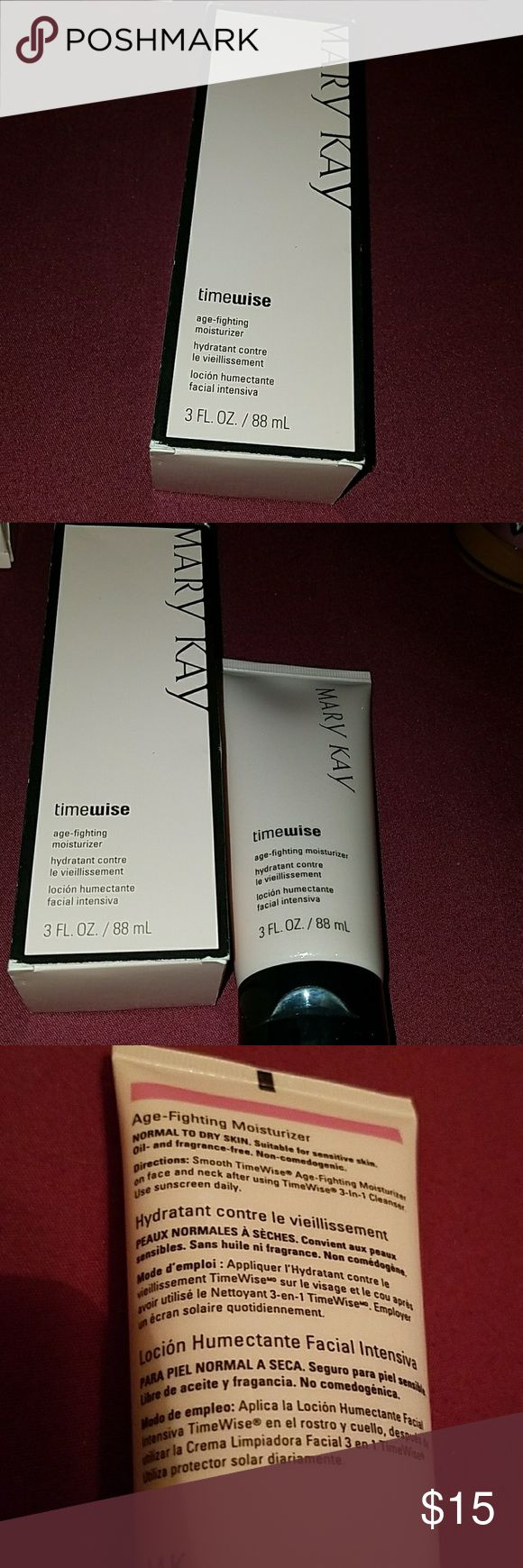 Mary Kay moisturizer Nwt Mary Kay timewise age-fighting moisturizer NIB  Normal to dry skin Mary Kay Makeup