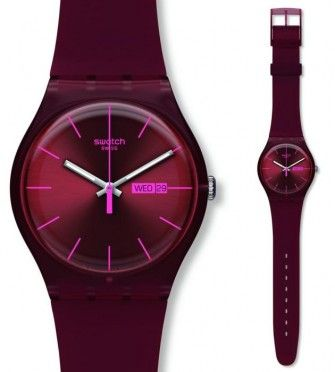 Swatch burgundy rebel originals.