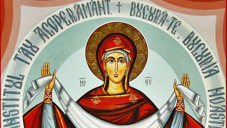 Rugaciunea acoperamantului Maicii Domnului