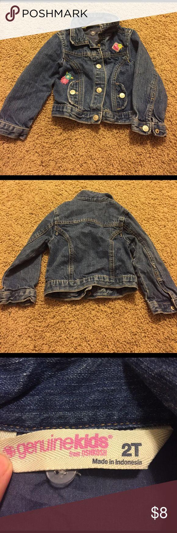 Toddler jean jacket 3T toddler jean jacket Shirts & Tops Sweatshirts & Hoodies
