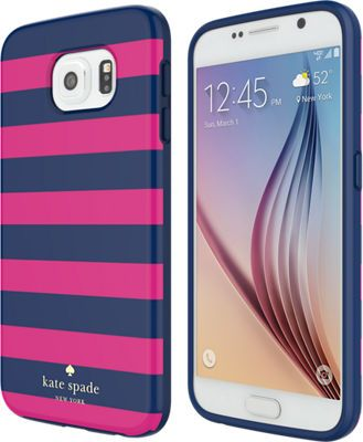 kate spade new york Flexible Hardshell Case for Samsung Galaxy S 6 - Candy Stripe - Verizon Wireless