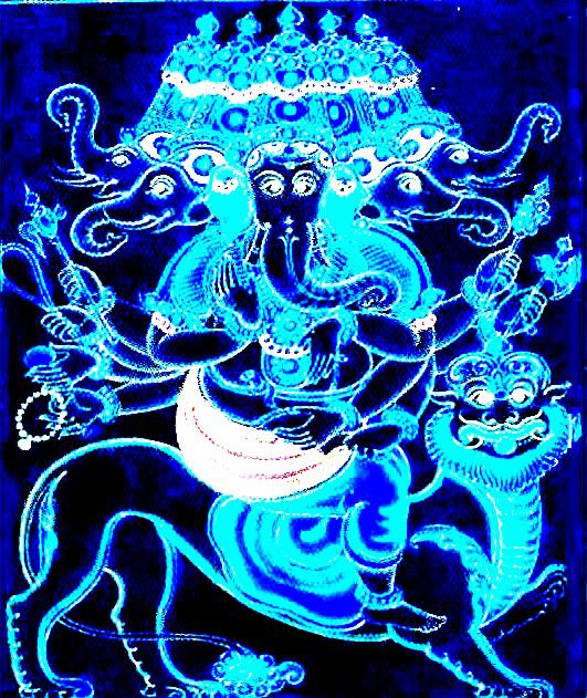 Panchamukha Ganesha