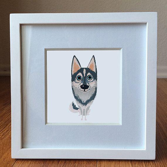 Original custom portrait art print of you your loved by YiJenLiu