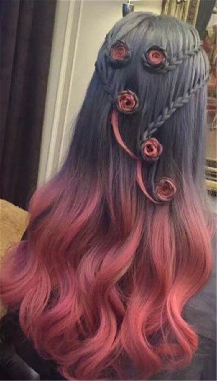 80+ Chic Ombre Lavender Hairstyles With Highlights Trend in 2019