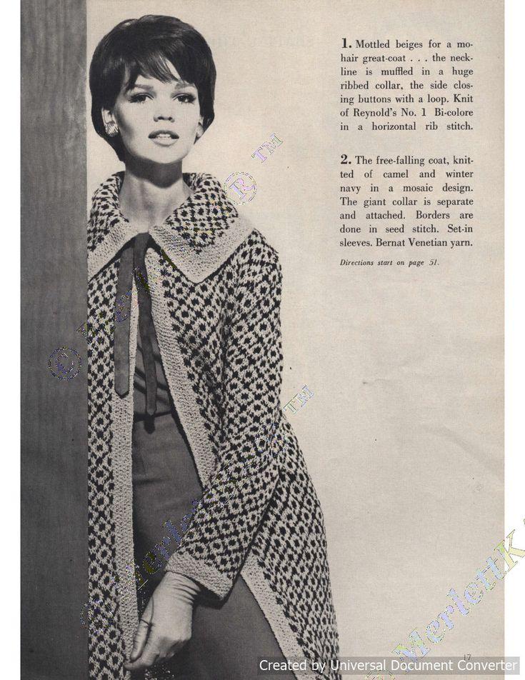 1781 besten Vintage Knits Bilder auf Pinterest