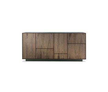 Rialto de Riva 1920 en Quarto Sala: Mueble de almacenamiento en madera maciza y alistonada, encerrado en un marco ...