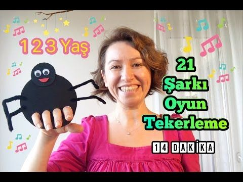 21 Şarkı Oyun Tekerlerme 1 2 3 Yaş Grubu için - YouTube