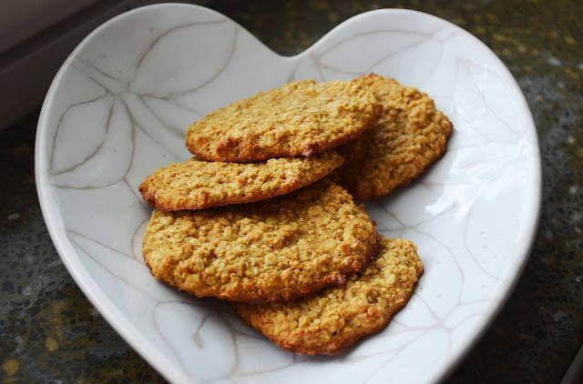 Vihreässä Keittiössä: Syntisen hyvät kaurakeksit (gluteenittomat)