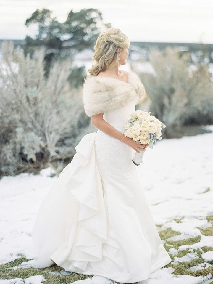 Winter Wonderland Oregon Wedding