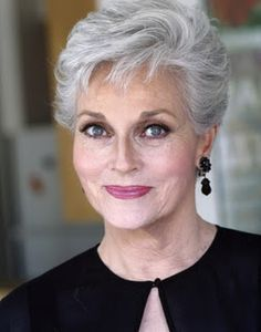 Hairstyles for 50+ aged women. These ladies look FANTASTIC with their modern hairstyle!