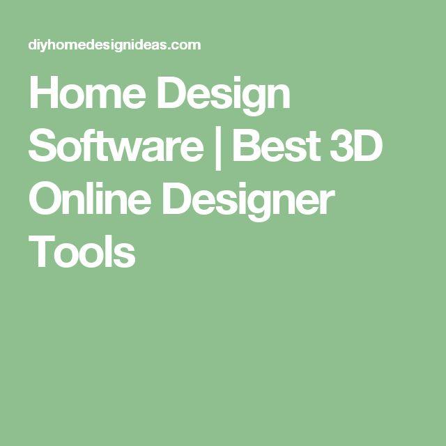 25+ Best Ideas About Home Design Software On Pinterest