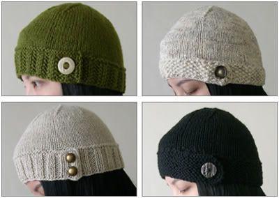 button-tab hat pattern: Knits D I I, Hats Patterns, Buttons Tabs Hats, Knits Patterns, Buttontab Hats, Cute Hats, Knits Diy, Knits Hats, Weights Buttons