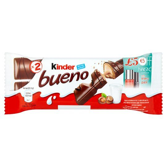 Kinder Bueno Bar 43G - Groceries - Tesco Groceries