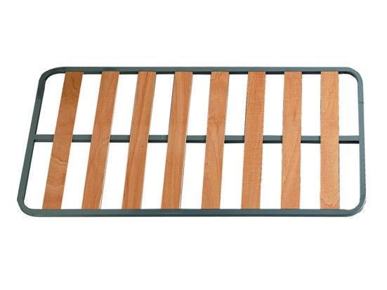 """El somier económico.  SOMIER """"B4"""" KYRIOS     Marco de tubo de acero de 30 x 30.  Pintado con pintura epoxi.  Láminas de madera de 10 cm de anchura incrustadas al marco.  Patas redondas de madera roscadas incluidas, de 25 cm de altura.     Entrega 7 días  Consúltanos para entregas en 48-72 horas sin coste extra de envío: 96.156.06.31  Precio IVA incluido  Envío Gratuito en la península  GARANTIA 2 AÑOS  https://www.colchoneskyrios.es/producto.php?Id=159"""